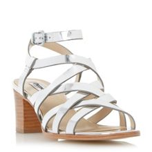 Dune Iliana strappy block heel sandals