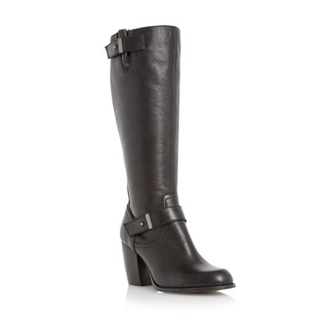 Linea Treats double strap knee high boots