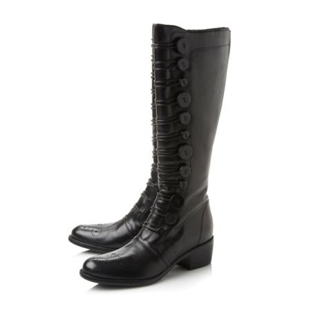 Dune Pixie button high boots