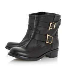 Philee clean buckle biker boots