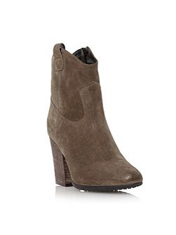Purly western style ankle boot