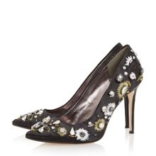 Brionie pointed toe embellished courts