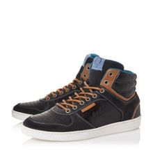 Sandy hills collar high top trainers
