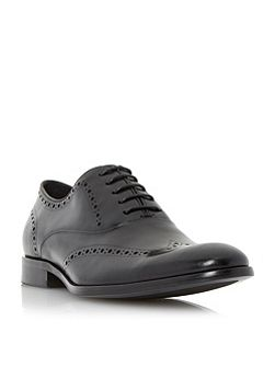 Dune Reegal leather wingtip oxford brogue