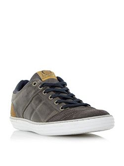 Temper Leather Cupsole Trainers