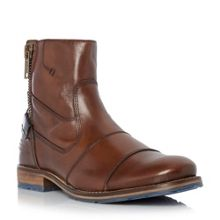 Dune Cackle toecap side zip leather boot