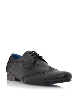 Rodders Leather Derby Brogue