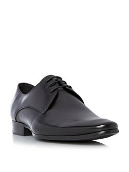 Rick Plain Toe Leather Derby Shoe