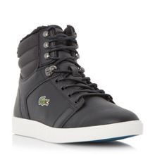 Lacoste Orelle Put Fur Lined Hi Top Trainers