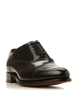Winsford High Shine Leather Toe Cap Shoe