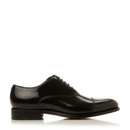 Barker Winsford High Shine Leather Toe Cap Shoe