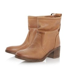 Polizzi rouched ankle boots