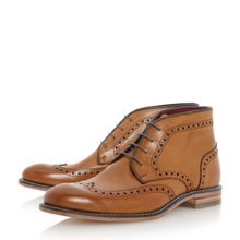 Errington leather brogue boots