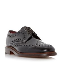 Dawson high shine leather brogues