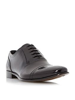 Rule Toecap Detail Leather Oxford Shoe