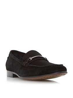 Runcorn metal saddle trim loafers