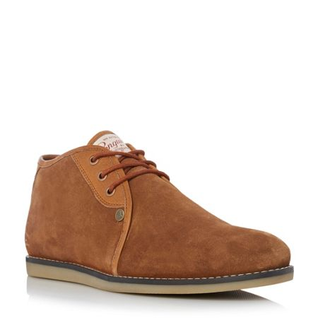 Original Penguin Legal suede lace up chukka boots
