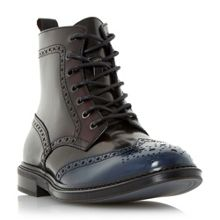 Dune Cruncher lace up brogue boots