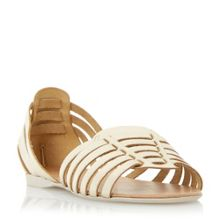 Dune Gabonita haurache style leather sandals