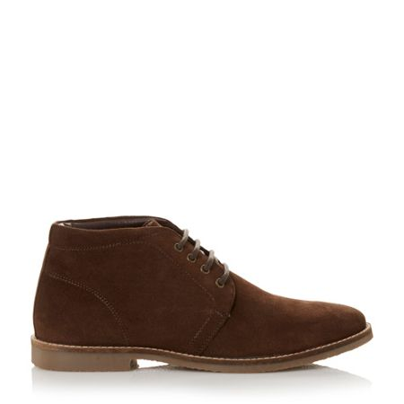 Howick Harley Suede Lace Up Desert Boot