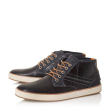 Scholesey Mixed Material Lace Up Trainer