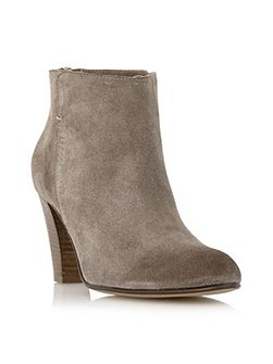 Pharah back zip ankle boots