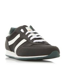 Hugo Boss Orleen mixed fabric runner trainers