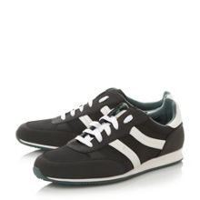 Orleen mixed fabric runner trainers