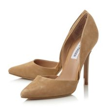Varcityy pointed toe court shoes