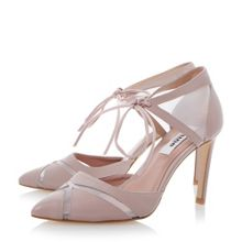 Cosete mesh 2 part court shoes