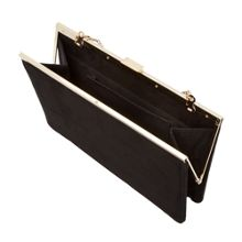 Head Over Heels Barlie metal plate clutch bag
