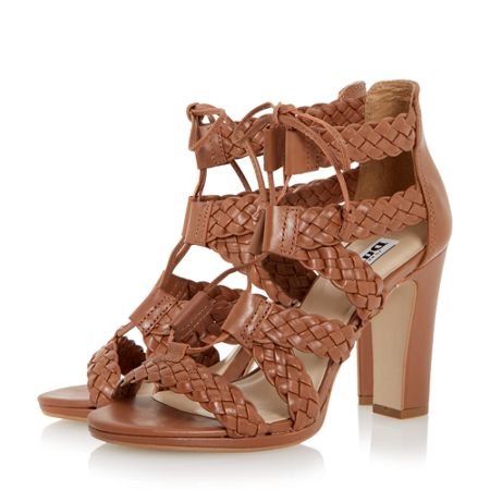 Dune Ivee woven strappy sandals