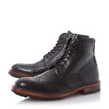 Bertie Cyrus leather lace up brogue boots