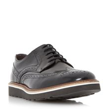 Bertie Barkly wedge sole brogues