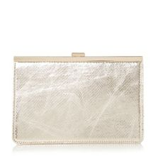 Barlie metal plate clutch bag