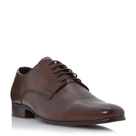 Howick Riser high shine leather derby shoes