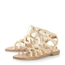 Dune Louella gladiator lace-up sandals