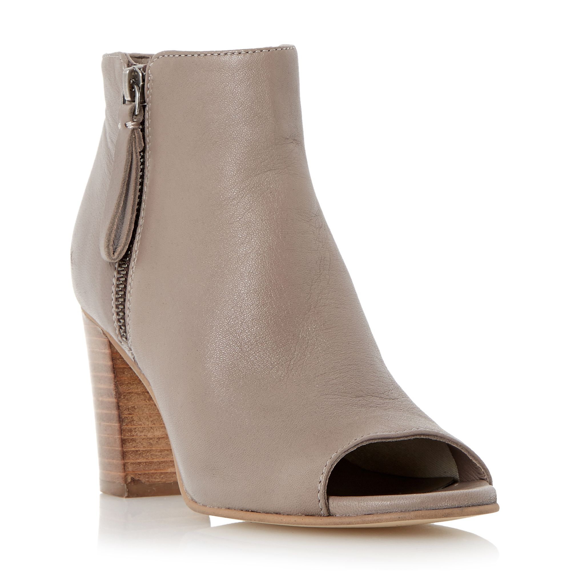 leather peep toe boots house of fraser