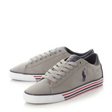 Polo Ralph Lauren Harvey-ne striped sole trainers