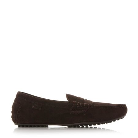 Polo Ralph Lauren Wes-e stitch detail penny driver loafers