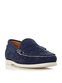 Bjorn suede penny loafer