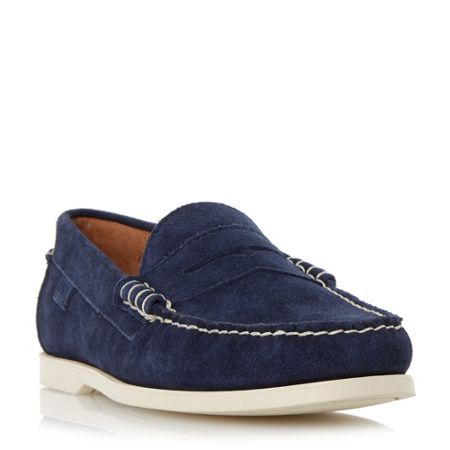 Polo Ralph Lauren Bjorn suede penny loafer