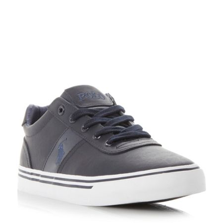 Polo Ralph Lauren Hanford vulcanised leather trainers