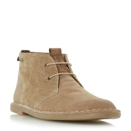 Barbour Hexham lace up chukka boots