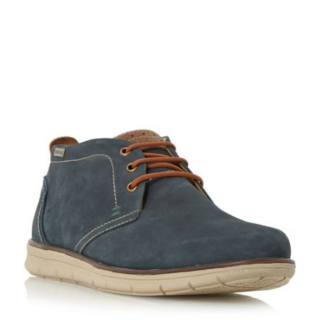 Barbour Bowlam nubuck lace up boots