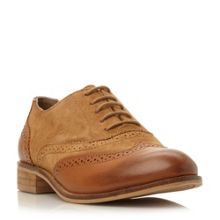 Fountain suede lace up brogues