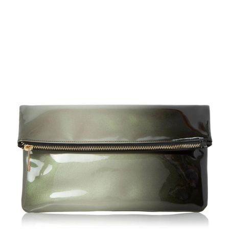 Head Over Heels Balley ombre fold over clutch
