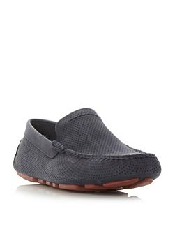 Henrick leather driver shoes