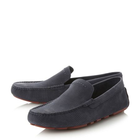 UGG Henrick leather driver shoes