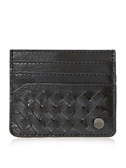 Dune Pixxy woven leather card holder